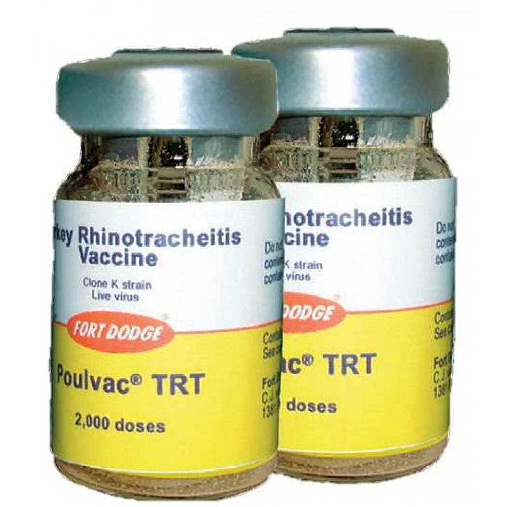 Zoetis ПУЛВАК TRT вакцина против метапневмовирусной инфекции птиц, 2000 доз