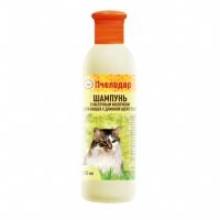 Шампунь гигиенический с маточным молочком для кошек (Пчелодар), фл. 250 мл.
