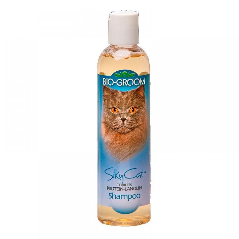Bio-Groom Silky Cat Shampoo - Кондиционирующий шампунь для кошек с протеином и ланолином