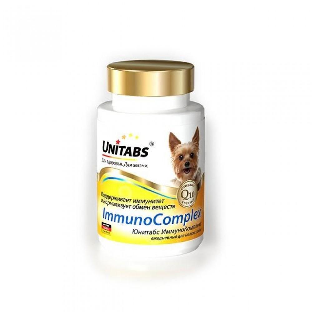Экопром Unitabs ImmunoComplex с Q10 (Юнитабс ИммуноКомплекс) витамины для мелких собак, 100 таб.