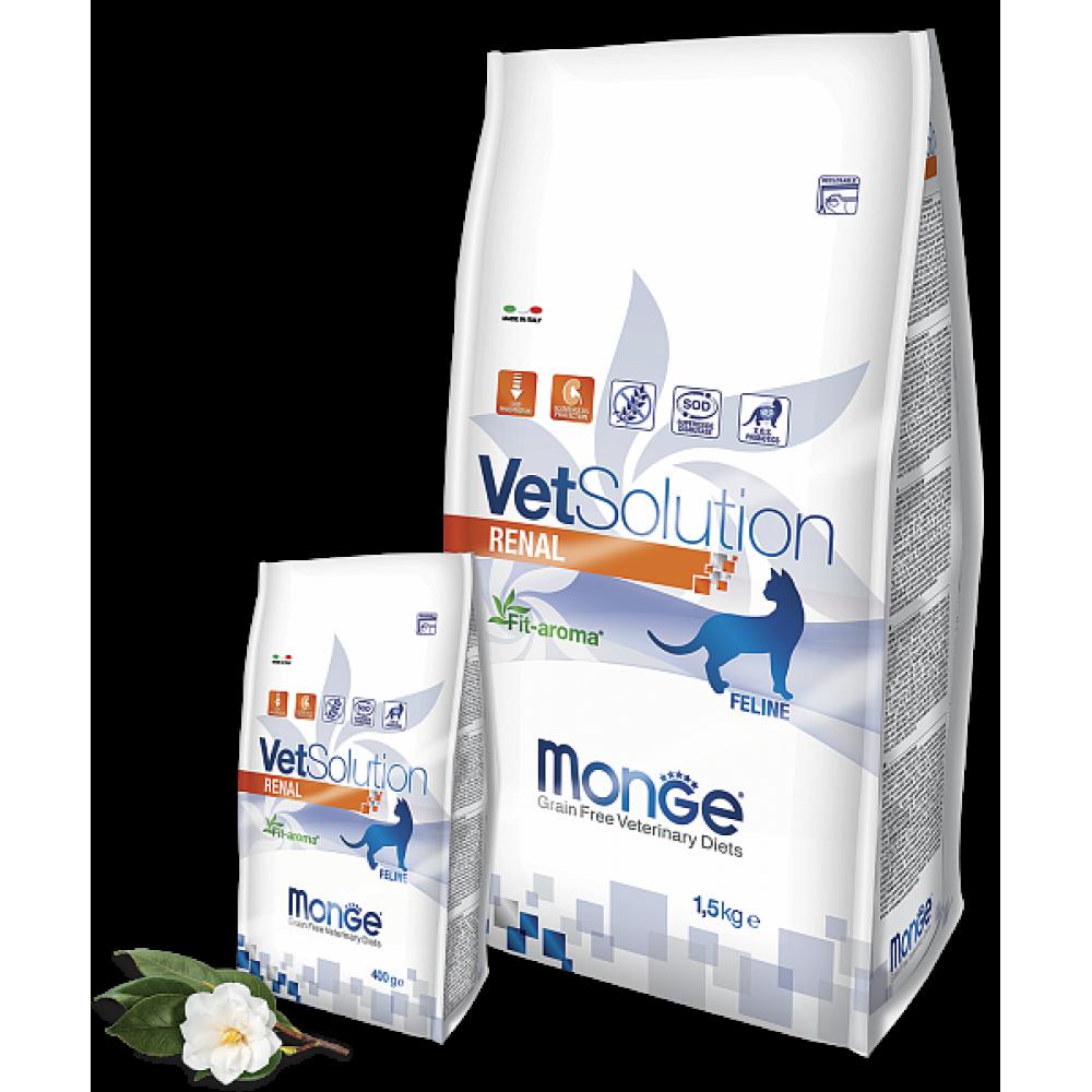 Monge VetSolution Cat Renal - Диета для кошек Ренал