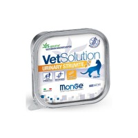 VetSolution Cat Urinary Struvite - Влажная диета для кошек Монж Уринари Струвит