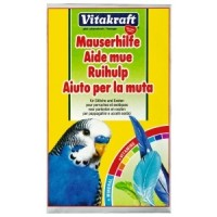 Vitakraft Mauserhilfe, Подкормка для волнистых попугаев «Витакрафт Маусерхилфе», в период линьки,20 г.