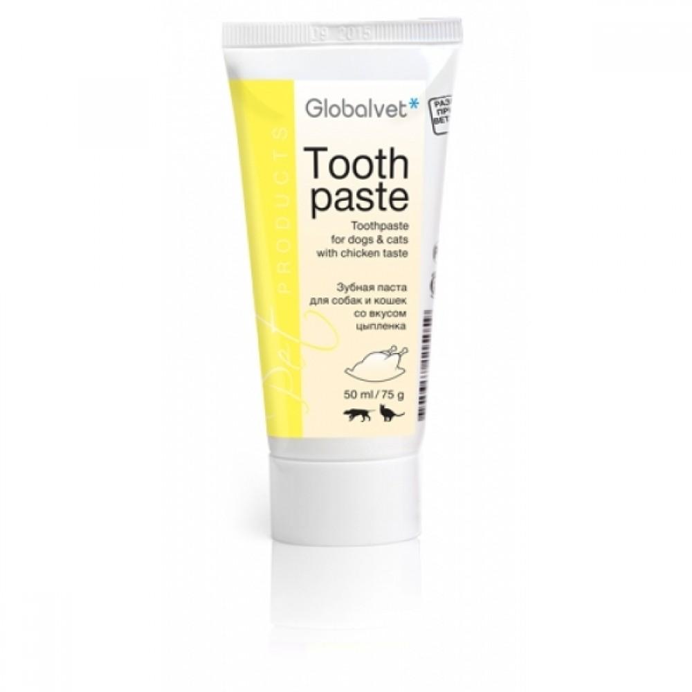 GlobalVet Зубная паста для собак и кошек Toothpaste (ГлобалВет), туба 50 мл