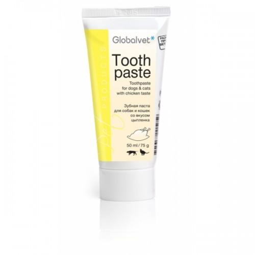 Зубная паста для собак и кошек Toothpaste (ГлобалВет), туба 50 мл