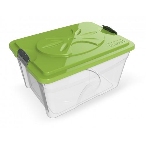 BAMA PET - Контейнер для хранения корма SIM BOX 18/32 л, прозрачный