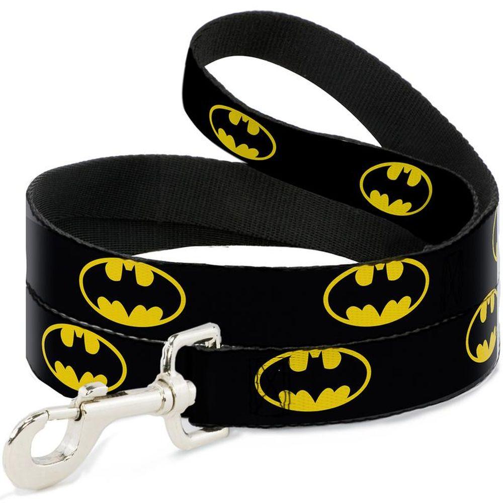 "Buckle-Down Batman - Поводок для собак ""Бэтмен жёлтый"""