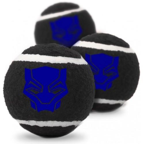 """Black Panther - Игрушка для собак теннисные мячики """"Чёрная Пантера"""""""