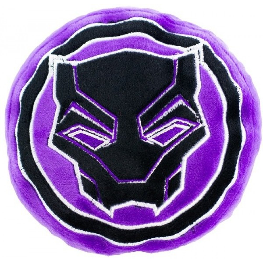 "Buckle-Down Black Panther - Игрушка-пищалка для собак ""Чёрная Пантера"""