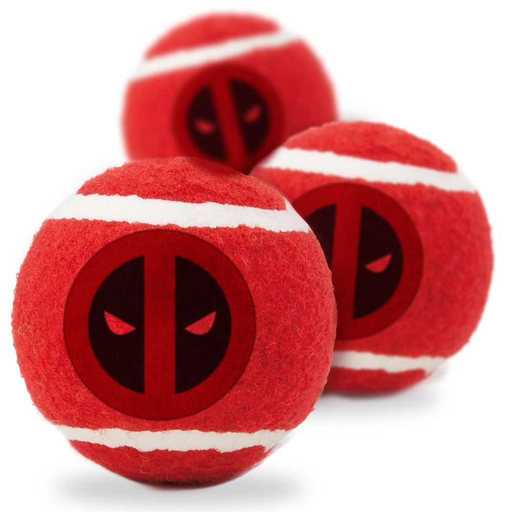 """Buckle-Down Deadpool - Игрушка для собак теннисные мячики """"Дэдпул"""""""