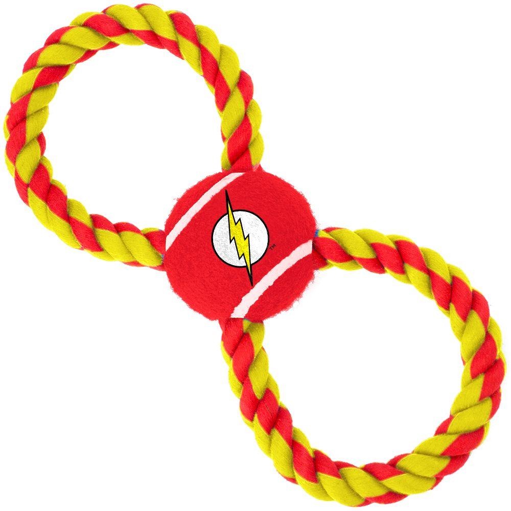 "Buckle-Down Flash - Игрушка для собак мячик на верёвке ""Флэш"""