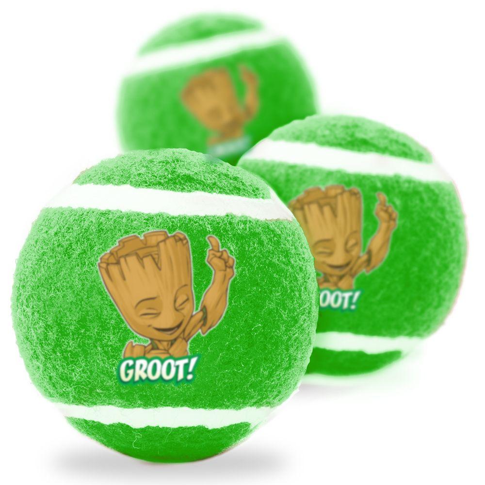 """Buckle-Down Groot - Игрушка для собак теннисные мячики """"Грут"""""""