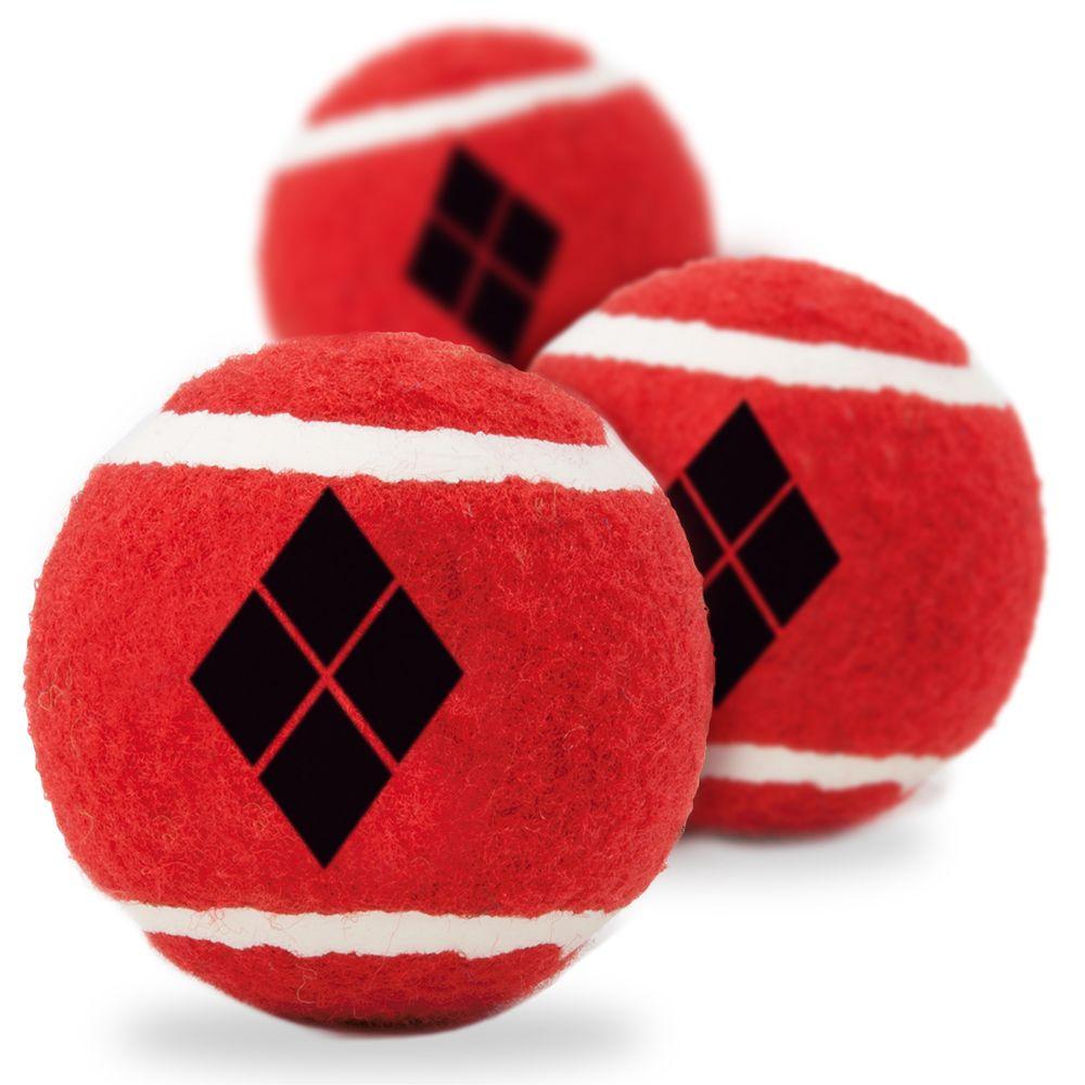 """Buckle-Down Harley Quinn - Игрушка для собак теннисные мячики """"Харли Квинн"""""""
