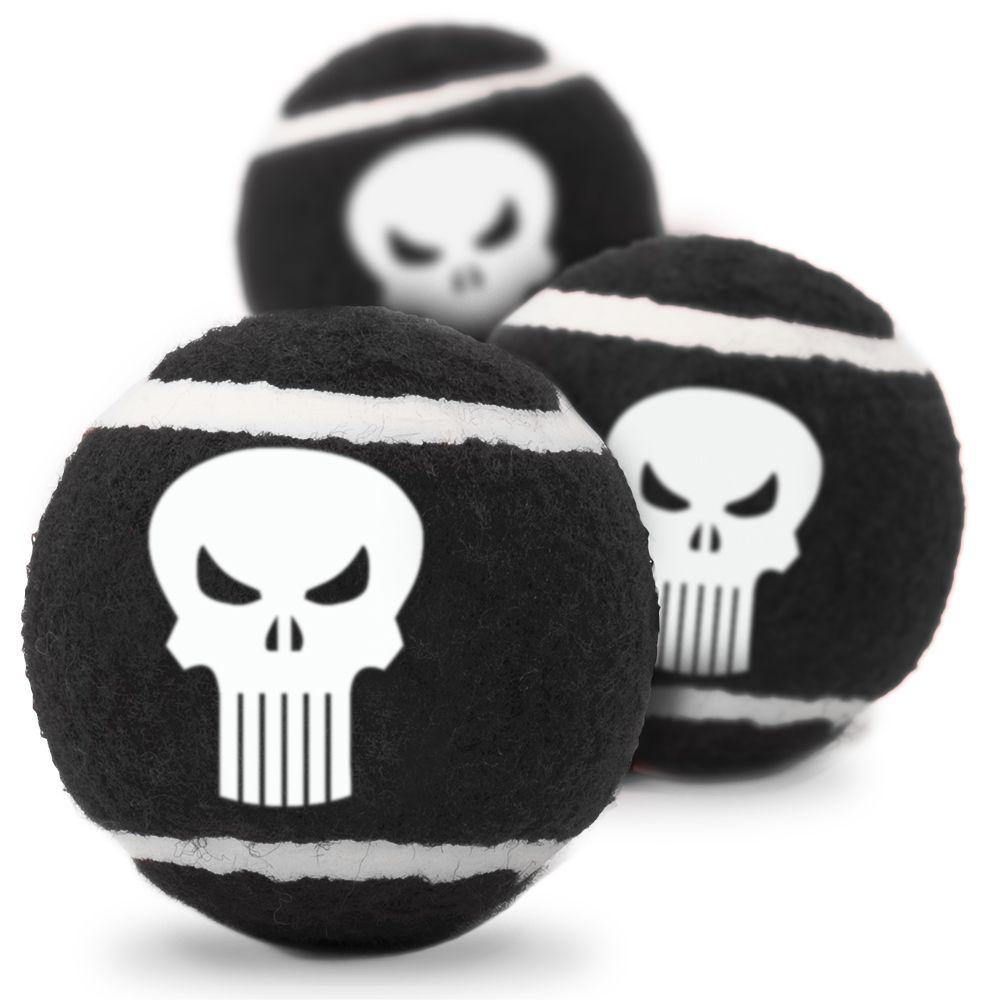 """Buckle-Down Punisher - Игрушка для собак теннисные мячики """"Каратель"""""""