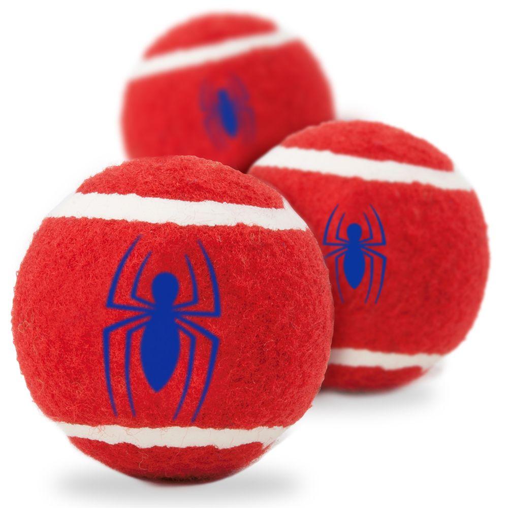 """Buckle-Down Spider-Man - Игрушка для собак теннисные мячики """"Человек-паук"""""""