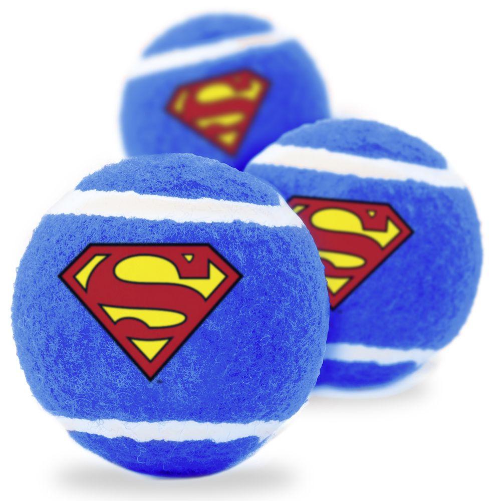 """Buckle-Down Superman - Игрушка для собак теннисные мячики """"Супермен"""""""
