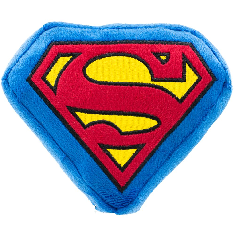 "Buckle-Down Superman - Игрушка-пищалка для собак ""Супермен"""