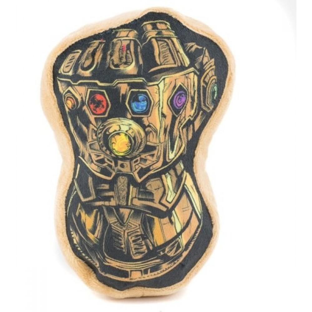 """Buckle-Down The Gauntlet Of Infinity - Мягкая игрушка для собак """"Перчатка Бесконечности"""""""