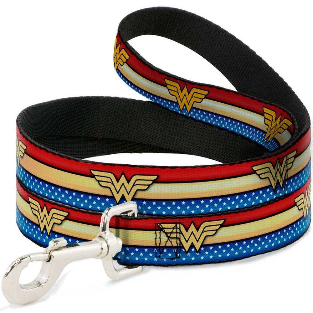 """Buckle-Down Wonder Woman - Поводок для собак """"Чудо-Женщина"""""""