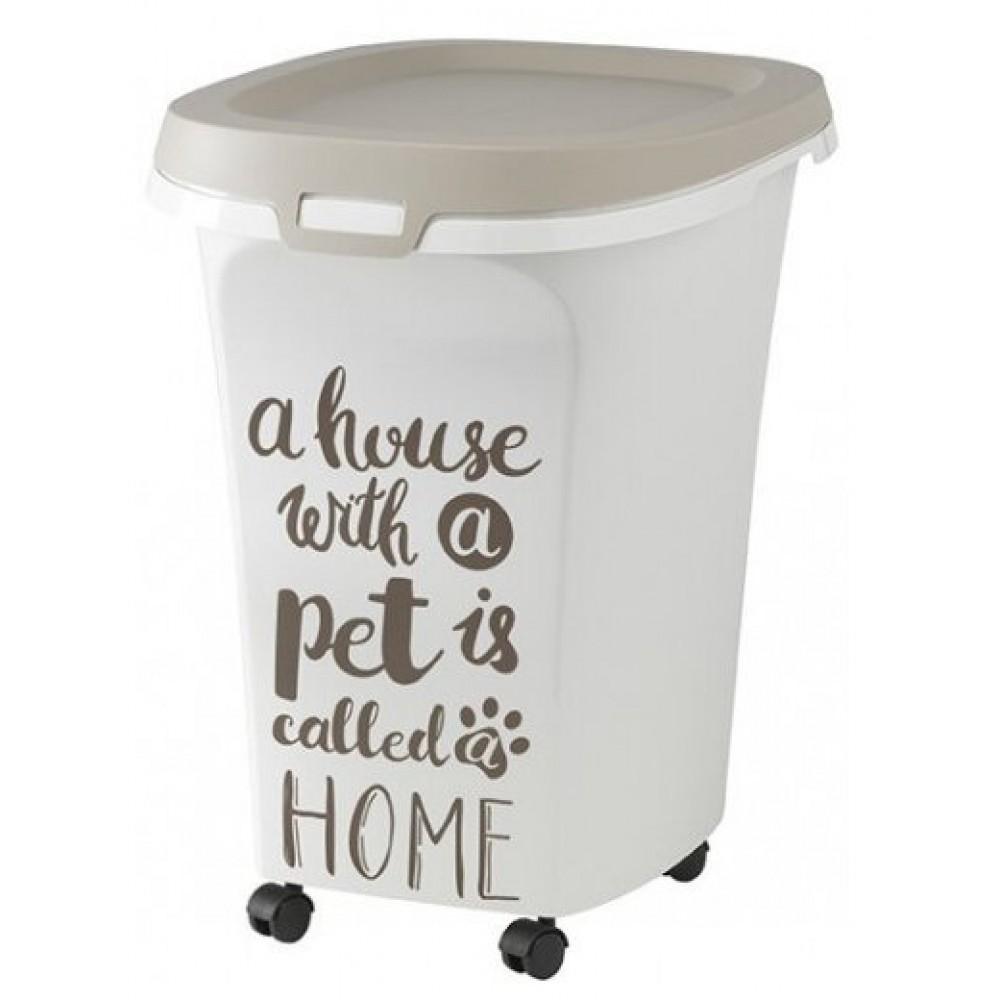 Moderna Pet Wisdom - Контейнер для корма передвижной серый