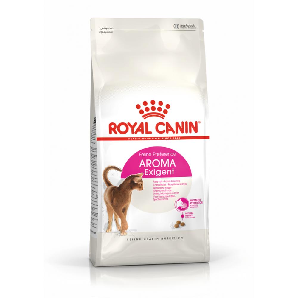 """Royal Canin Aroma Exigent - Корм для взрослых привередливых кошек с особо развитым обонянием """"Роял Канин Арома Экзиджент"""""""