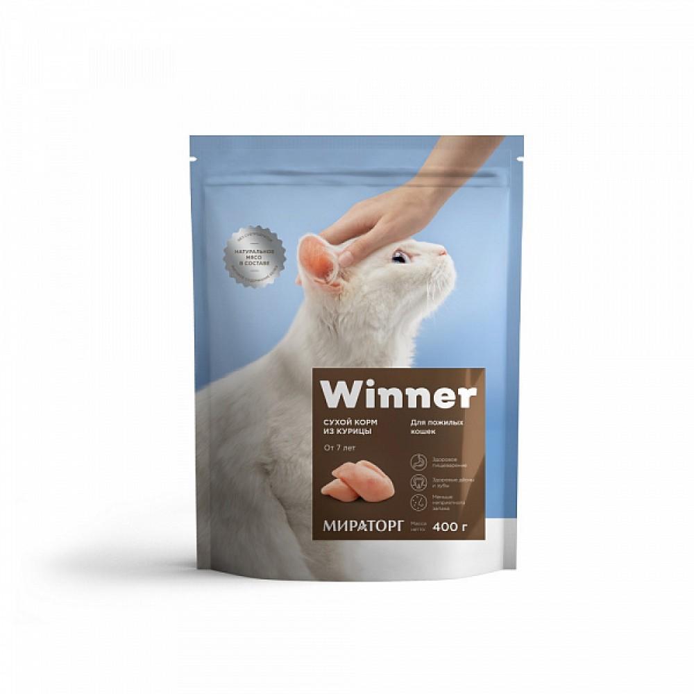 Winner Мираторг - Сухой корм для возрастных кошек