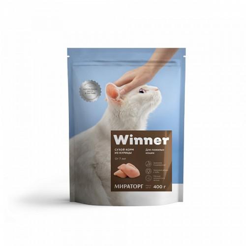 Мираторг - Сухой корм для возрастных кошек