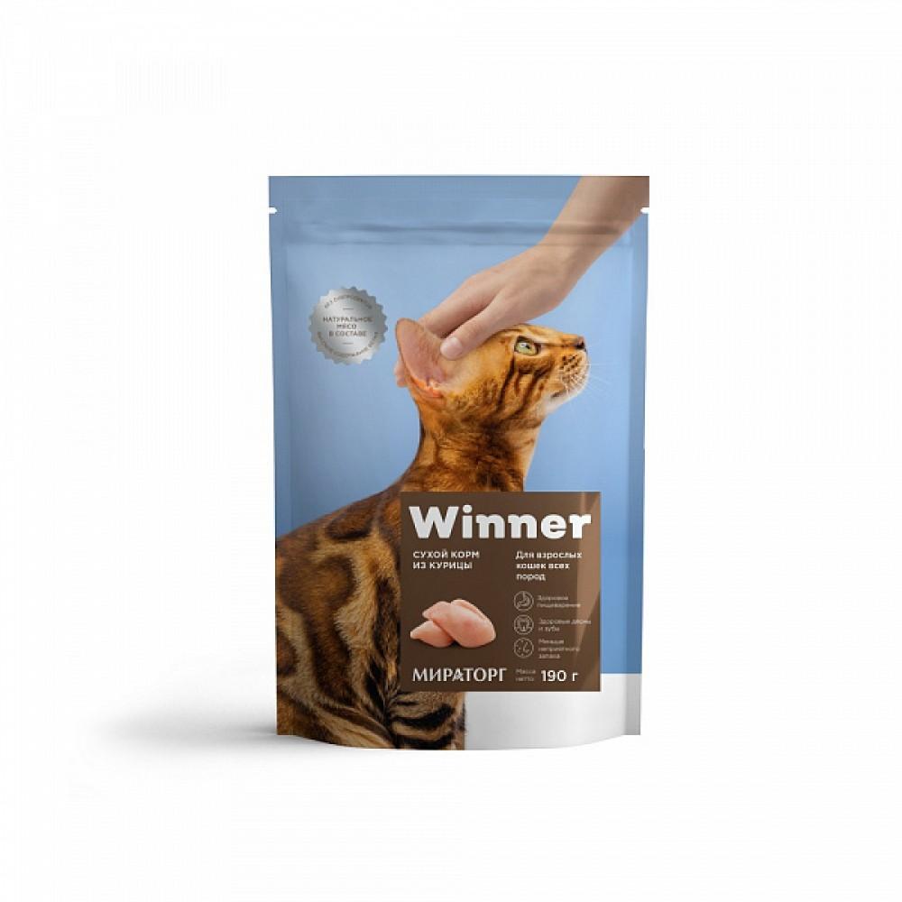 Winner Мираторг - Сухой корм для взрослых кошек всех пород