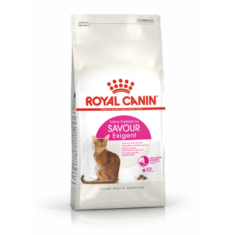 """Royal Canin Savour Exigent - Корм для привередливых взрослых кошек, особо чувствительных к вкусу пищи """"Роял Канин Сэйвор Экзиджент"""""""