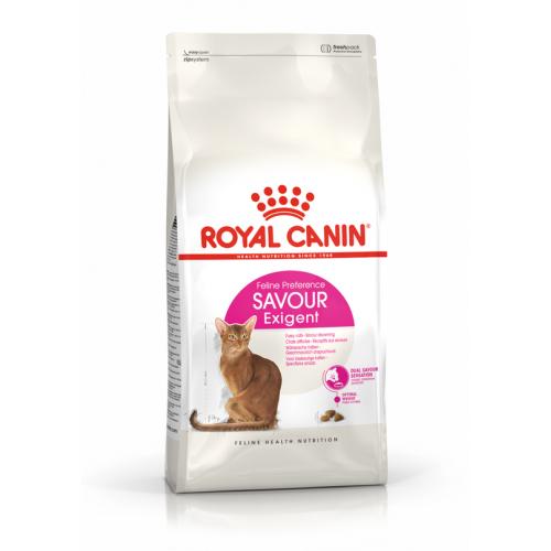 """Savour Exigent - Корм для привередливых взрослых кошек, особо чувствительных к вкусу пищи """"Роял Канин Сэйвор Экзиджент"""""""