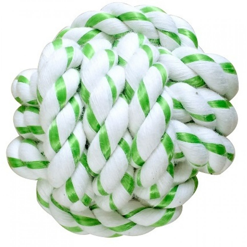 Aromadog CanineClean игрушка для собак - Мячик из каната с ароматом мяты