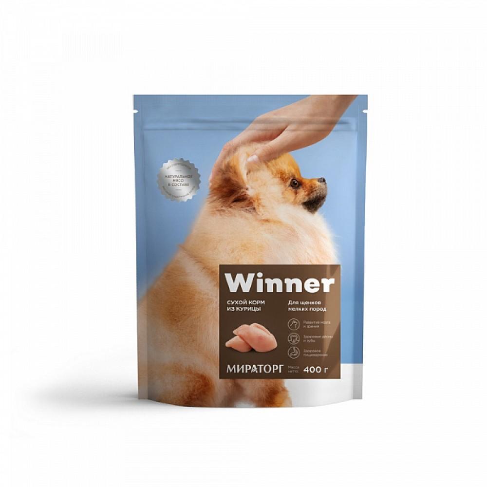 Winner Мираторг - Сухой корм для щенков мелких пород