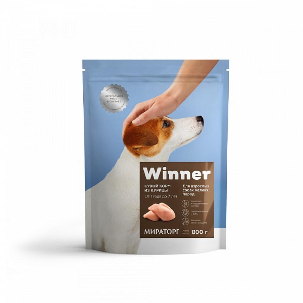 Winner Мираторг - Сухой корм для взрослых собак мелких пород