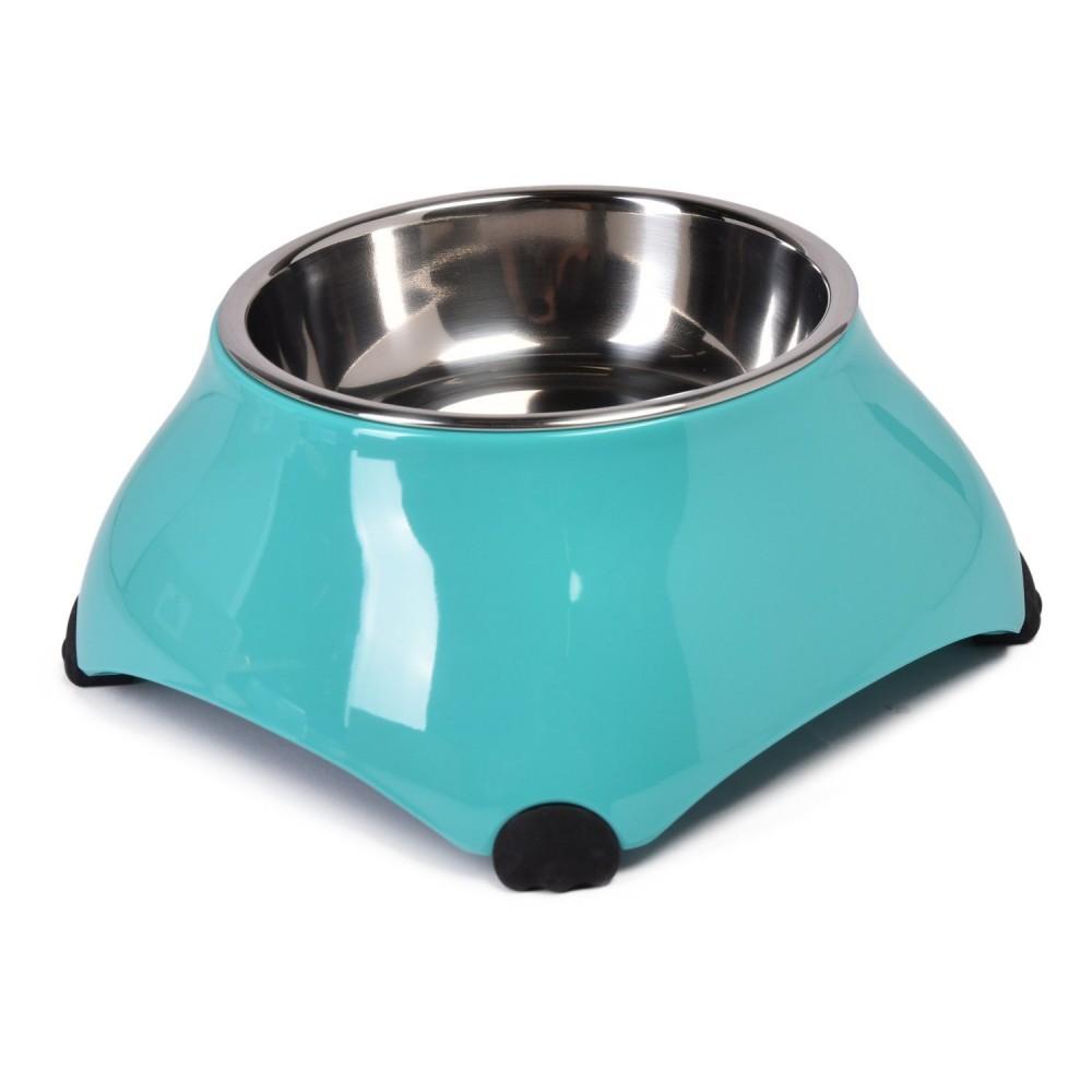 """Superdesign Миска меламиновая для собак высокая """"Аквамарин"""""""
