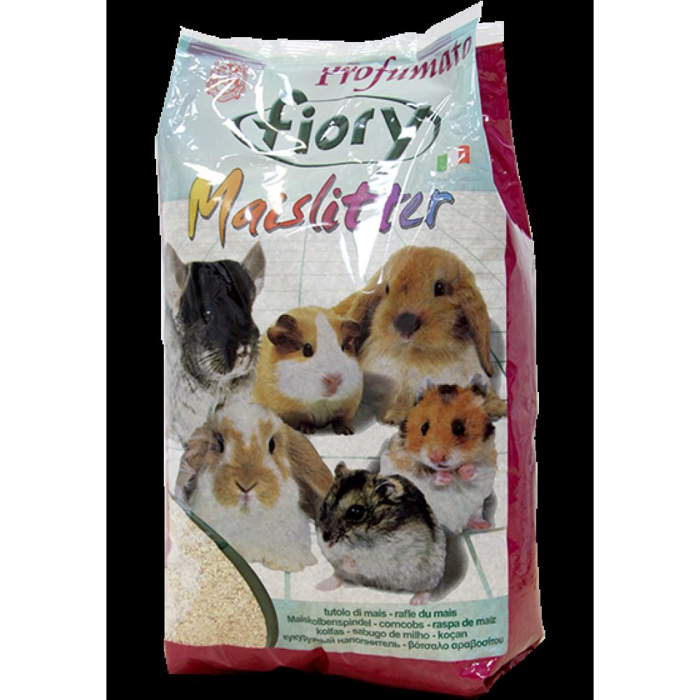 Fiory Maislitter Profumato - Наполнитель кукурузный для грызунов Дикие Ягоды