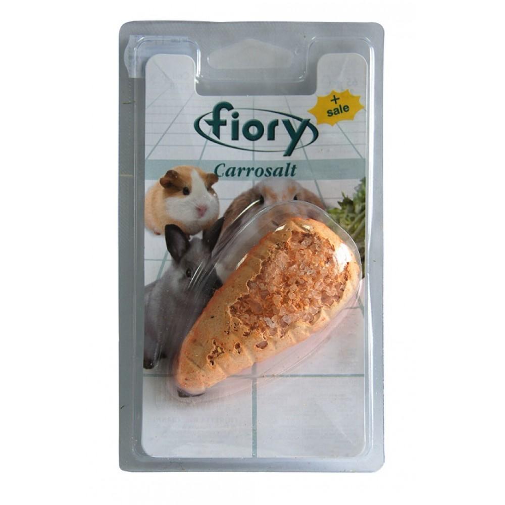 Fiory Carrosalt - Био-камень для грызунов с солью в форме моркови