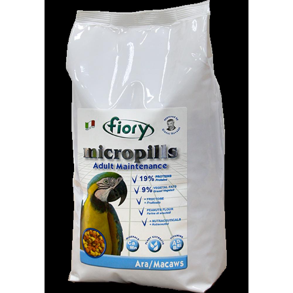 Fiory Micropills Ara/Macaws - Корм для попугаев Ара