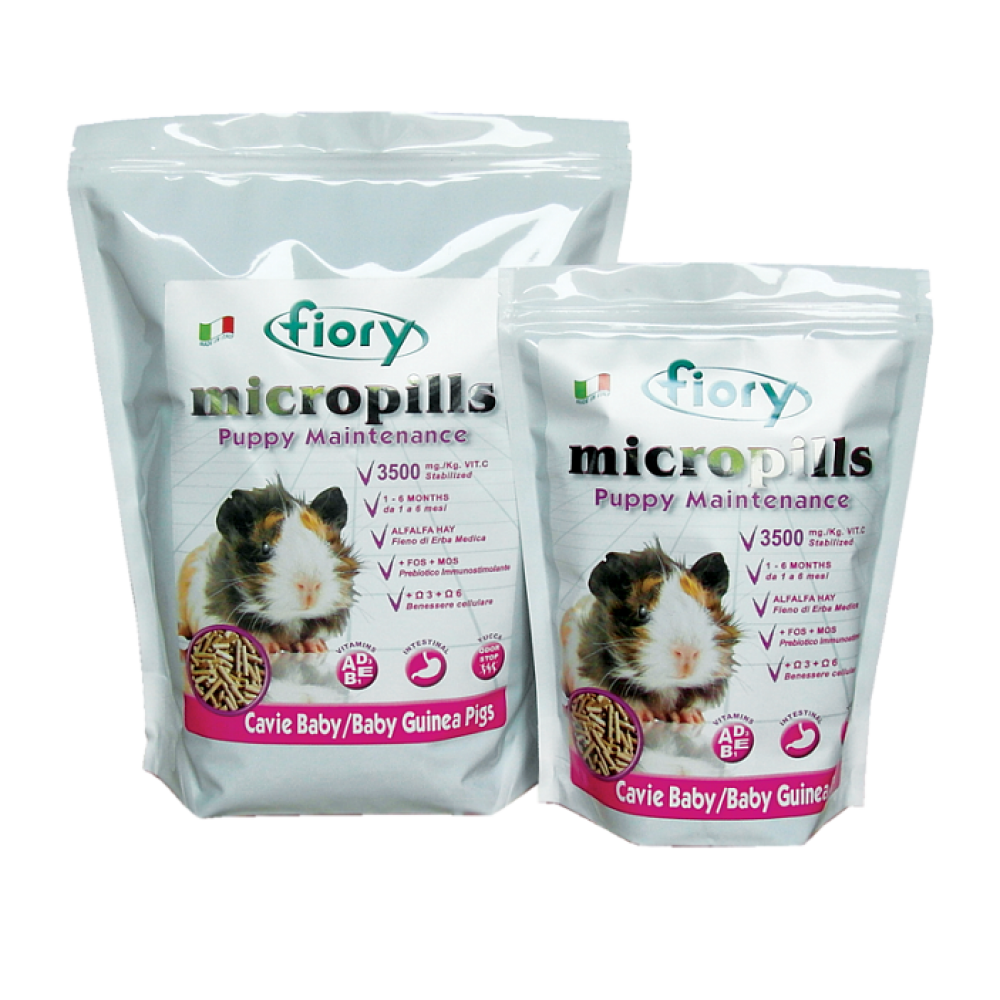 Fiory Micropills Baby Guinea Pigs - Корм для морских свинок 1-6 мес