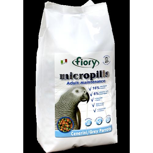 Micropills Grey Parrots - Корм для серых африканских попугаев
