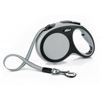 """New Comfort - """"Флекси Комфорт"""" рулетка лента для собак, черный/антрацит (5 м)"""