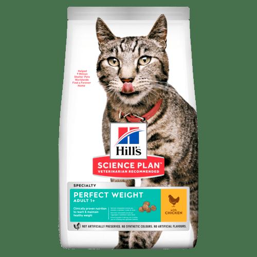 Science Plan™ Perfect Weight - Хиллс сухой корм для кошек идеальный вес