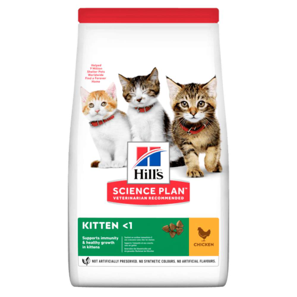 Hill's Science Plan™ - Хиллс сухой корм для котят с курицей