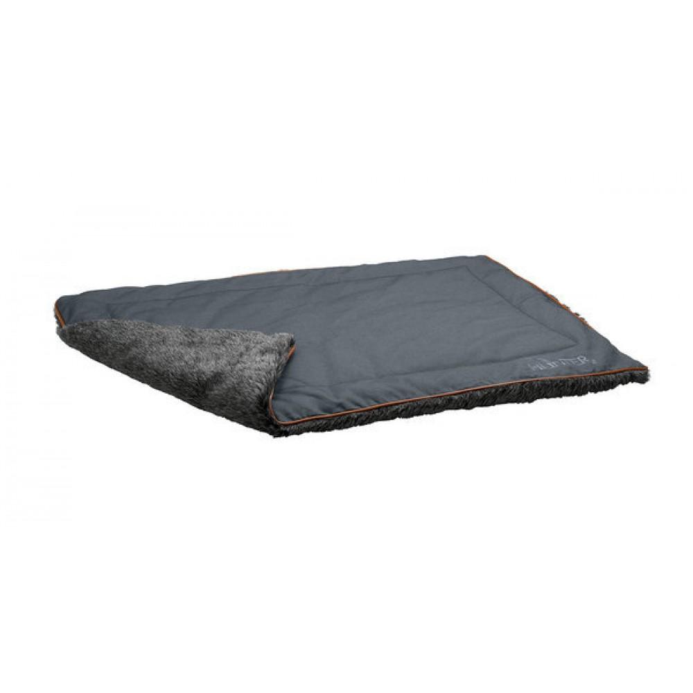 Hunter Hunter одеяло для собак Bergamo 120х80 см, хлопок/полиестер, антрацит