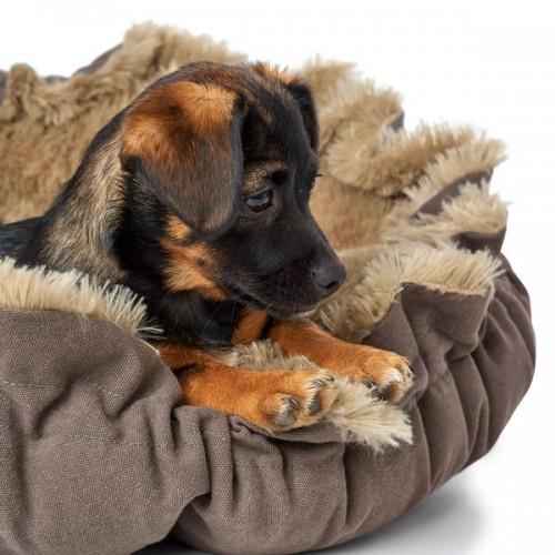 Hunter лежанка для собак Tilburg, 95 см, бежевый