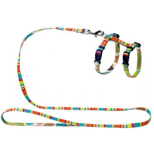 Smart Stripes - Шлейка для кошек и собак нейлоновая