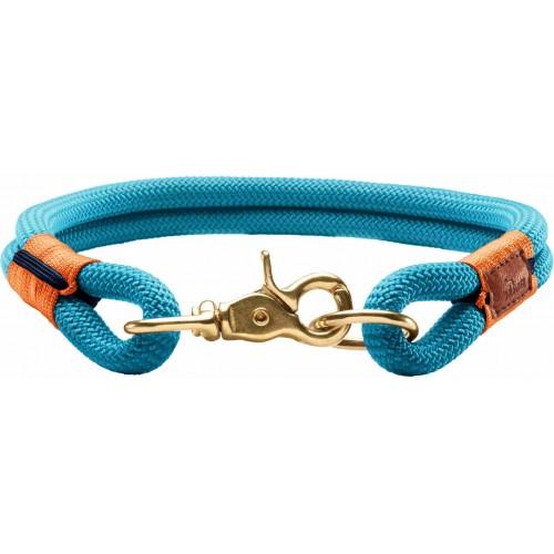 Oss - Ошейник для собак лазурно-синий, текстиль