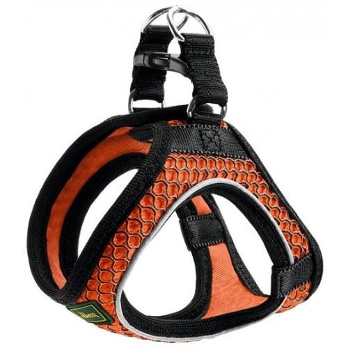 Hilo Comfort - Шлейка для собак, сетчатый текстиль, оранжевая