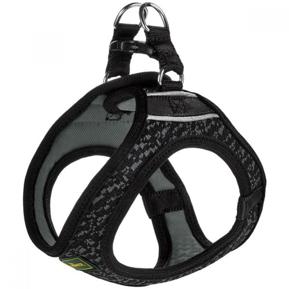 Hunter Hilo Soft Comfort - Шлейка для собак, сетчатый текстиль, черная
