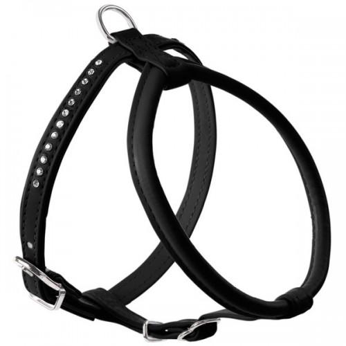 Modern Art R&S Luxus Smart - Шлейка для собак кожзам черный