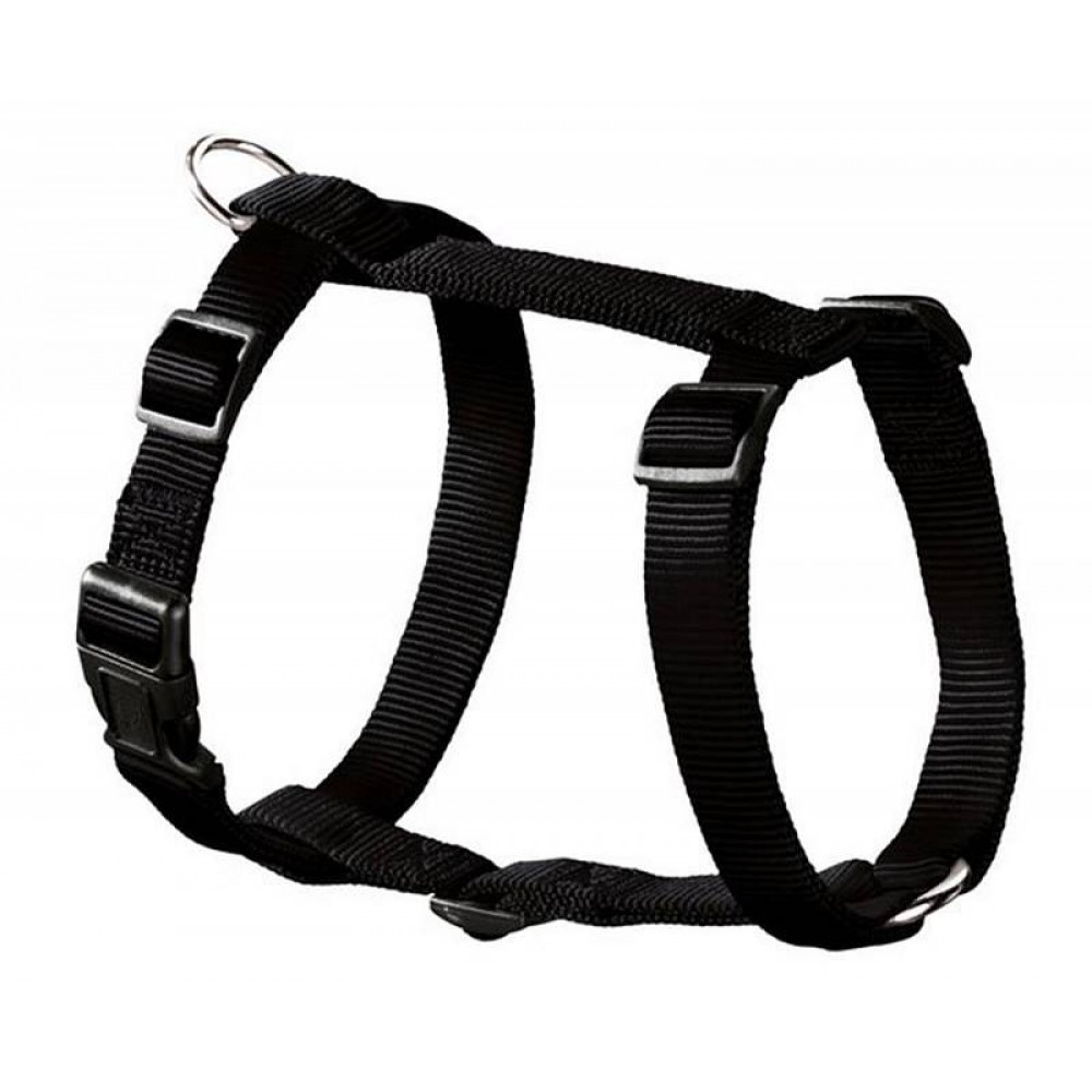 Hunter Ecco Sport Smart - Шлейка для собак, нейлон черный